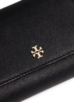 'Robinson' medium saffiano leather flat wallet