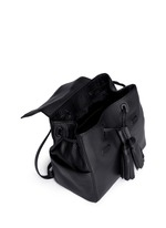 Thea' mini leather backpack