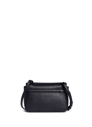 Tory Burch - Thea Mini' pebbled leather crossbody tassel bag