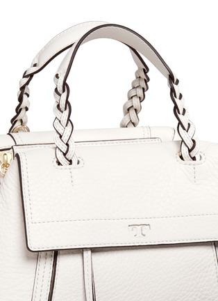 细节 - 点击放大 - TORY BURCH - 'Half-moon' small leather satchel