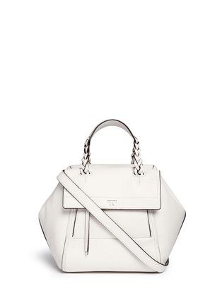 首图 - 点击放大 - TORY BURCH - 'Half-moon' small leather satchel