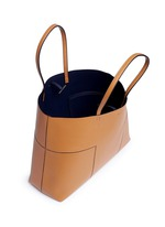 'Block-T' leather tote