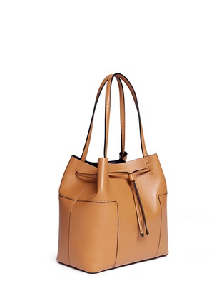 Tory Burch - Block-T' leather bucket tote