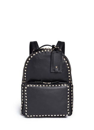 Main View - Click To Enlarge - Valentino - 'Rockstud' leather backpack