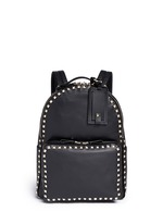 'Rockstud' leather backpack