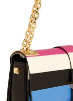 'B-Rockstud' stripe leather shoulder bag