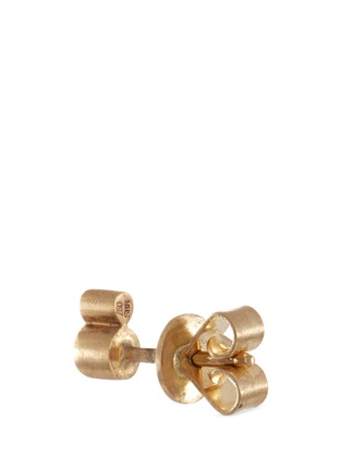 Detail View - Click To Enlarge - Sophie Bille Brahe - 'Lulu Grand' diamond 18k yellow gold single earring