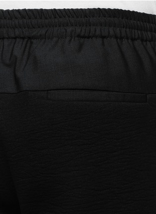 TIM COPPENS-Zip cuff crinkled jogging pants