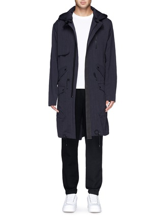 首图 - 点击放大 - TIM COPPENS - Detachable hood cotton-nylon parka