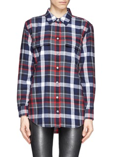 EQUIPMENT 'Signature' Tartan check plaid cotton shirt