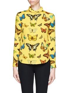 CHICTOPIAButterfly print shirt