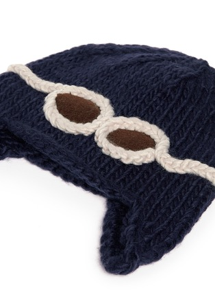 细节 - 点击放大 - THE BLUEBERRY HILL - 'Wilbur' kids aviator beanie