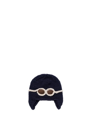 首图 - 点击放大 - THE BLUEBERRY HILL - 'Wilbur' kids aviator beanie