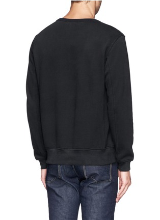 背面 - 点击放大 - ALEXANDER MCQUEEN - Feather embroidery sweatshirt
