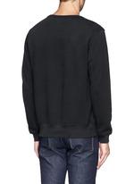 Feather embroidery sweatshirt