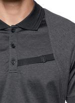 Harness polo shirt