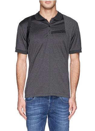 首图 - 点击放大 - Alexander McQueen - Harness polo shirt