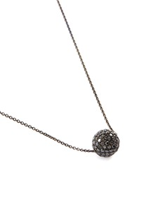 LC Collection Jewellery 'Disco Ball' diamond 18k gold pendant necklace