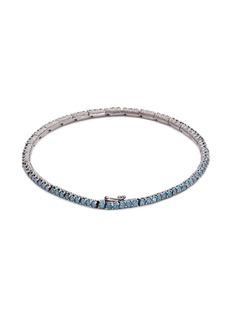 LC Collection Diamond 18k gold link chain bracelet