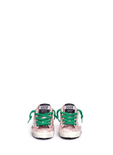 Golden Goose 'Superstar' coated glitter toddler sneakers
