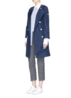 Theory 'Waleria' belted trench coat