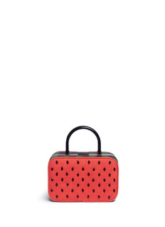 alice + olivia'Drew' watermelon box bag