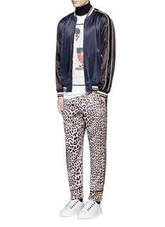 3.1 Phillip LimReversible leopard print satin pajama pants