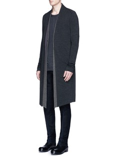 DEVOA Double layer wool coat