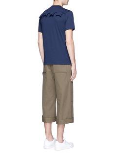 Comme Des Garçons ShirtStar embossed cotton T-shirt