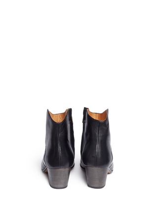 Back View - Click To Enlarge - Isabel Marant Étoile - 'Dicker' leather ankle boots