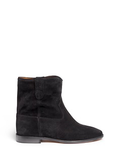 Isabel Marant Étoile 'Crisi' slouch cuff suede ankle boots