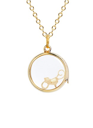Figure View - Click To Enlarge - Loquet London - 18k yellow gold monkey charm - Chinese New Year edition