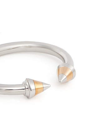 Detail View - Click To Enlarge - VITA FEDE - 'Titan Tri-tone' spike cuff