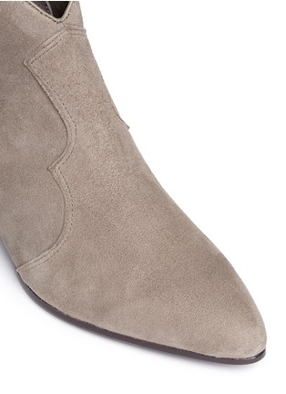 Detail View - Click To Enlarge - Ash - 'Hurrican' suede cowboy boots
