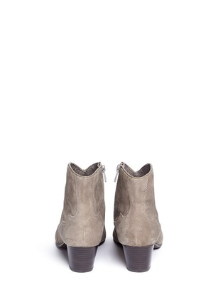Back View - Click To Enlarge - Ash - 'Hurrican' suede cowboy boots