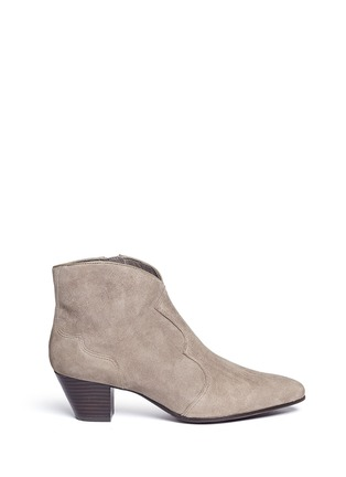 Main View - Click To Enlarge - Ash - 'Hurrican' suede cowboy boots