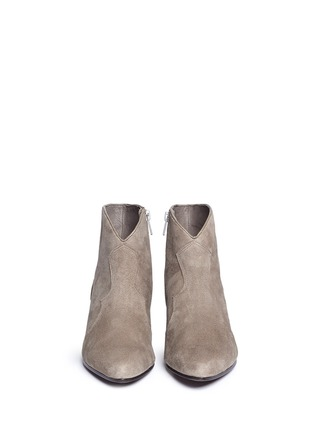 Figure View - Click To Enlarge - Ash - 'Hurrican' suede cowboy boots