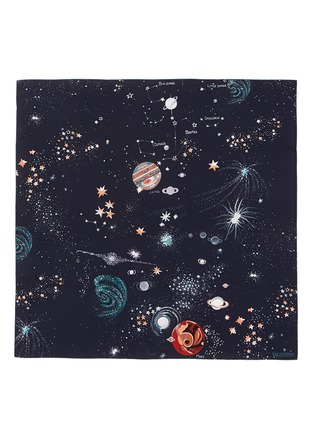 Main View - Click To Enlarge - Valentino - Cosmos star print silk scarf
