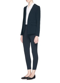 THEORY'Niransi' open front blazer