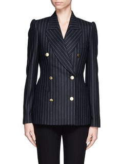 ALEXANDER MCQUEEN Pinstripe double breast jacket