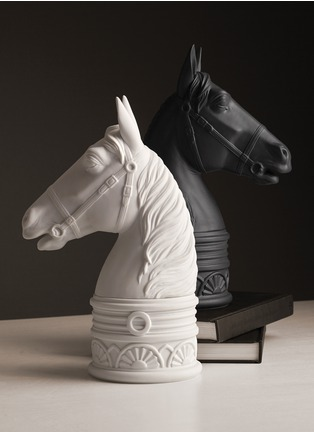 Figure View - Click To Enlarge - L'Objet - Horse Bookend - Black
