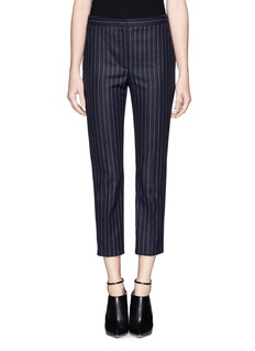 ALEXANDER MCQUEEN Stripe virgin wool pants