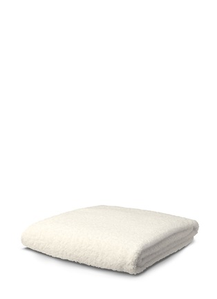 Main View - Click To Enlarge - Abyss - Super Pile bath towel — Ivory
