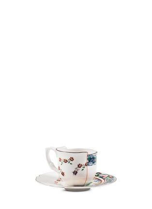 Seletti-Hybrid Tamara coffee cup and saucer set