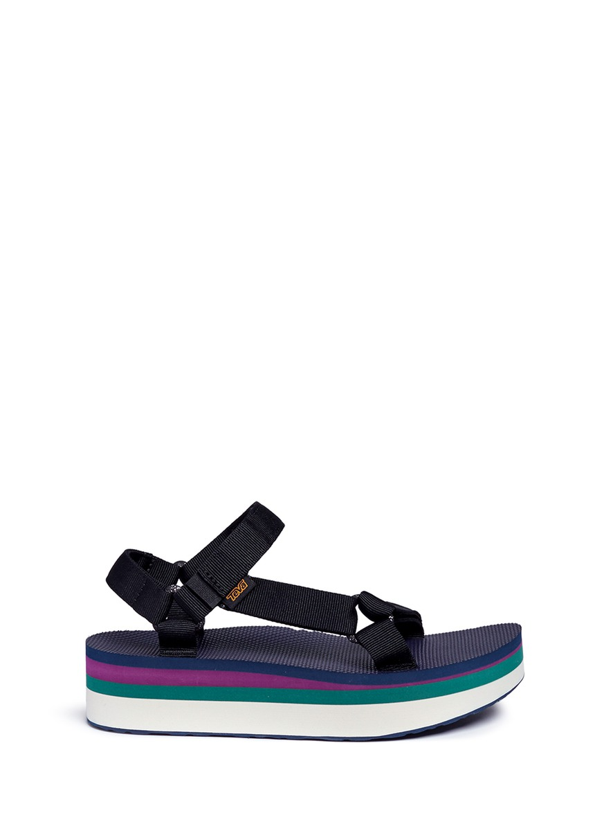 Flatform Universal Retro sandals by Teva
