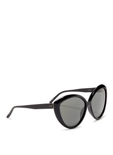 Linda FarrowAcetate cat eye sunglasses