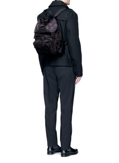 Valentino'Camustars Rockstuds' nylon backpack