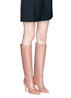 Gianvito Rossi'Dana' leather knee high boots