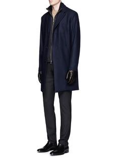 Theory'Delancey DK' bomber jacket underlay coat