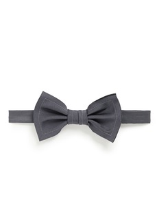 Lanvin Raw edge trim bow tie